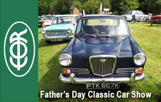 Classic cars at Epping Ongar Railway North Weald