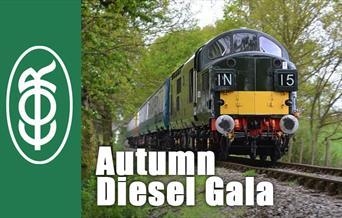 Epping Ongar Railway Autumn Diesel Gala