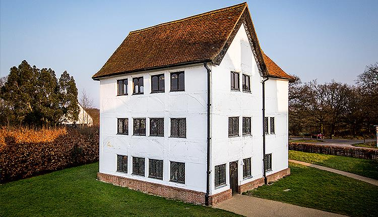 Queen Elizabeth's Hunting Lodge in Epping Forest