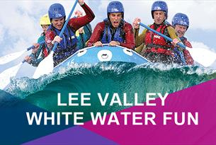 Rafting at LV White Water Centre
