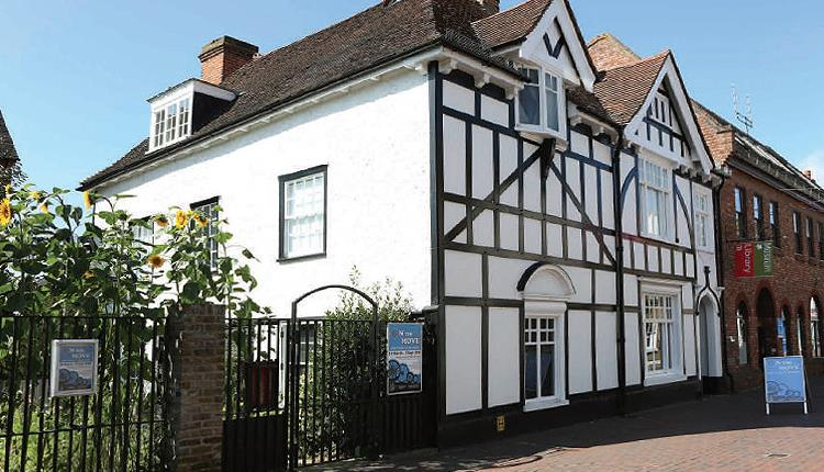 Epping Forest District Museum and garden in Sun Street Waltham Abbey