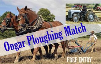 Ongar Ploughing Match illustration