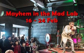 Mad Lab Mayhem kicks off the 2019 season at the Royal Gunpowder Mills in Waltham Abbey.