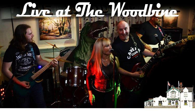 The Rock Dinosaurs, live at The Woodbine Waltham Abbey