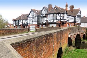 The bridge at Abridge