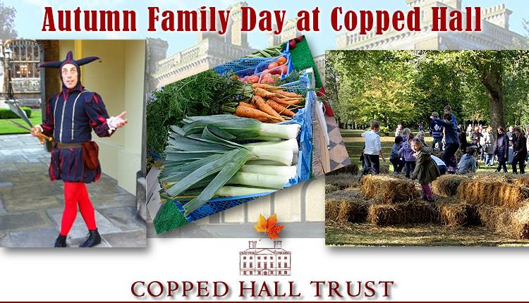 Autumn Family Day at Copped Hall, 10th October 2021.