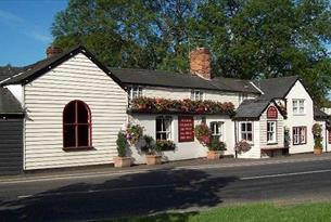 The 18th century Fox Inn at Matching Tye.