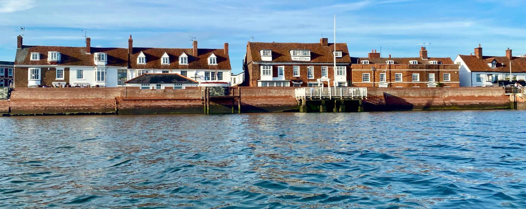 A view of the Quay in Burnham on Crouch