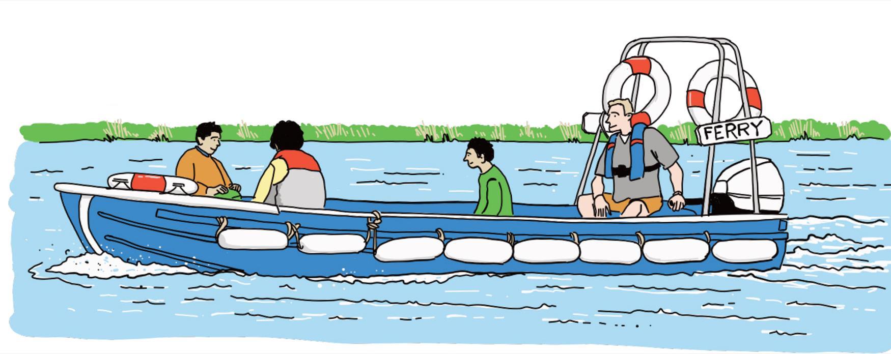 Ferry ride- DRAB