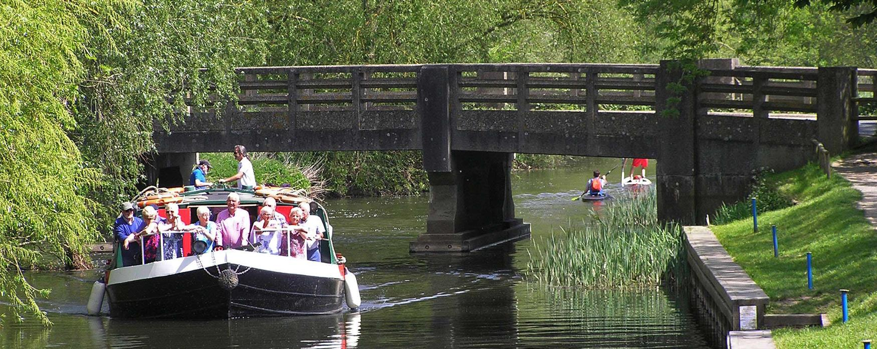 A boat tour on the Chelmer and Blackwater Navigation