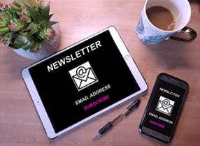 Subscribe to monthly newsletter