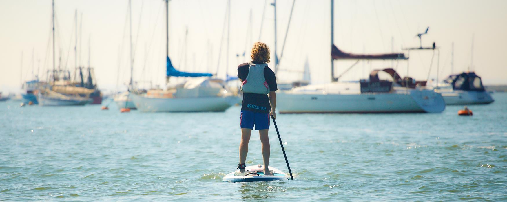 Paddleboarding @ Mersea Island