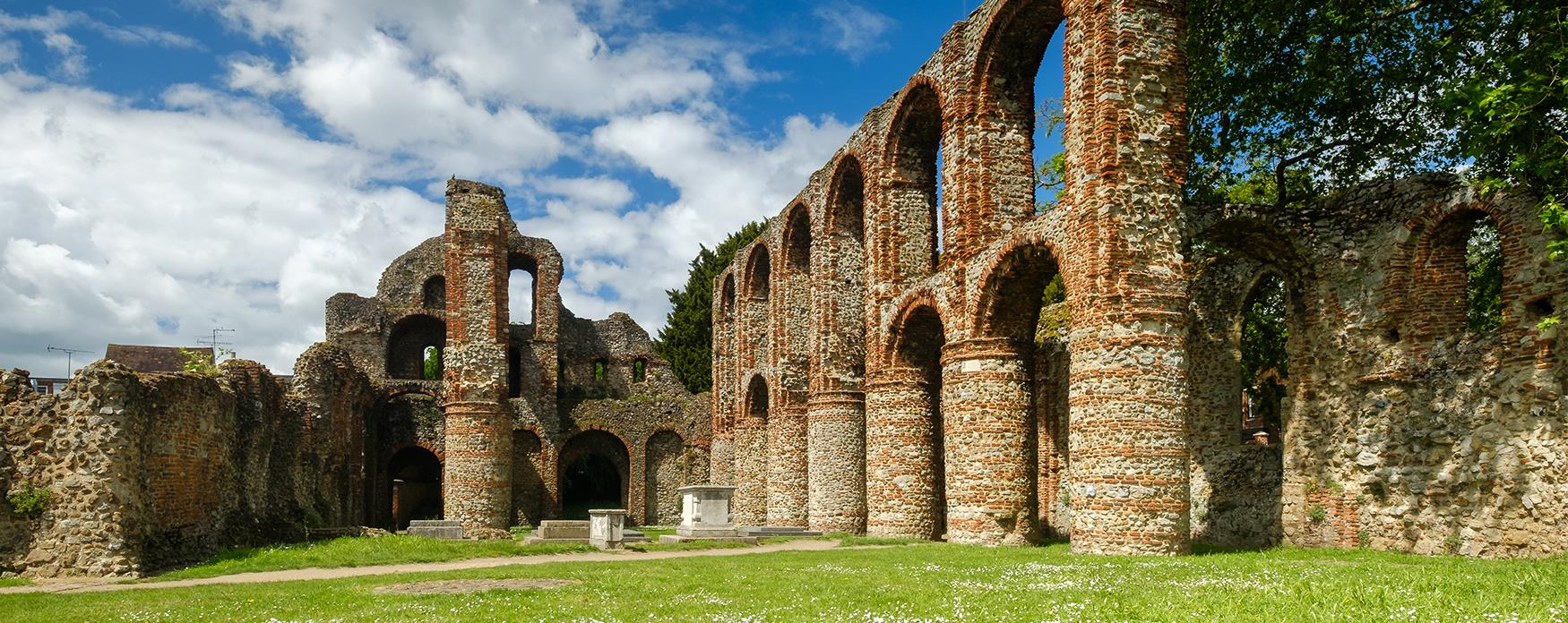 St Botolph's Priory in Colchester