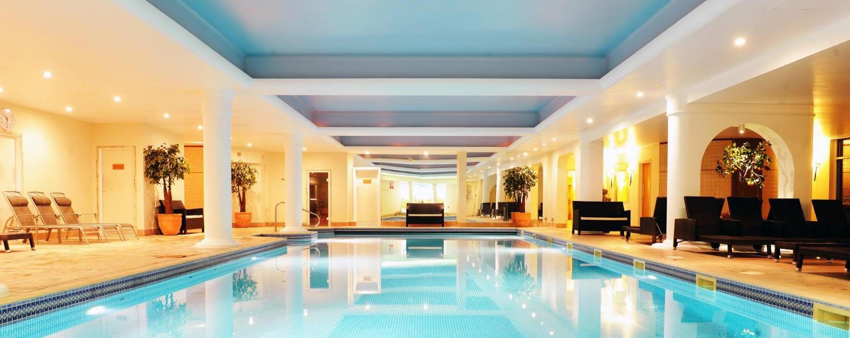 The Swimming pool at Stoke By Nayland Hotel and Spa
