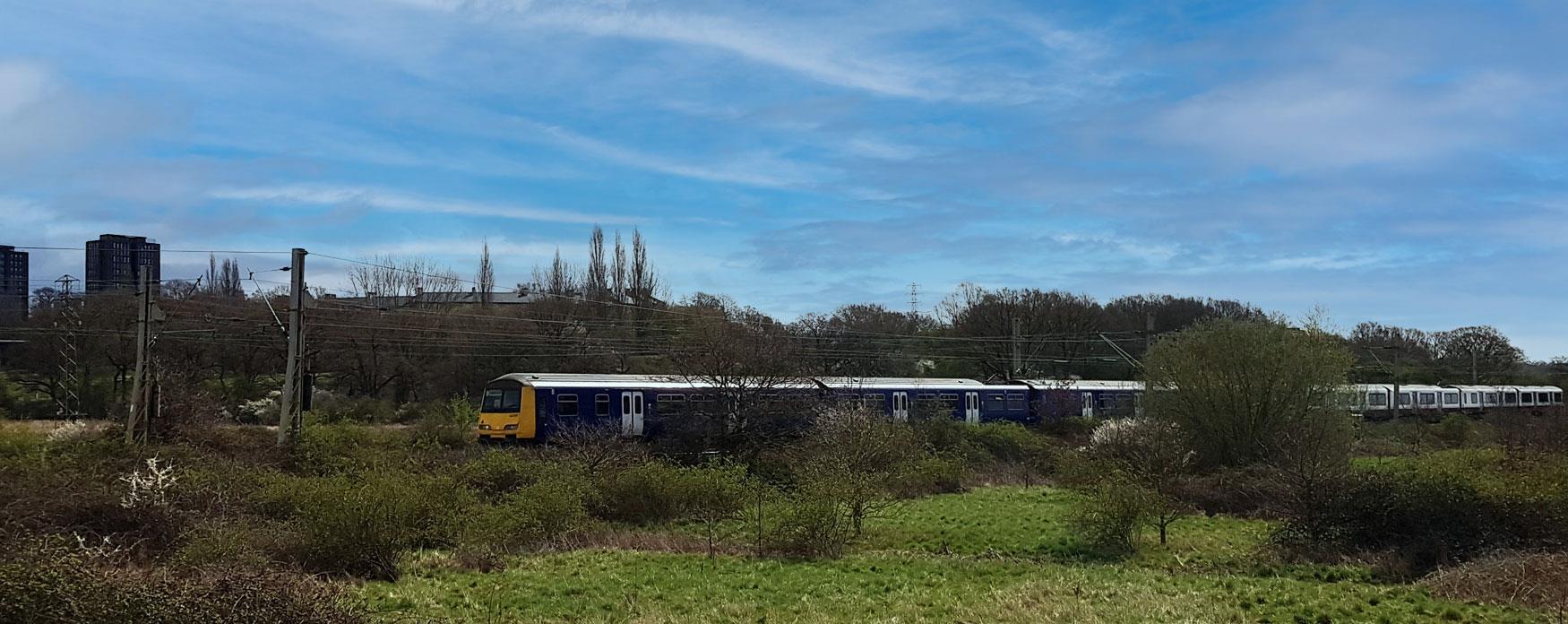 Travelling by rail on Sunshine Coast Line