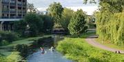Canoeing on River Chelmer