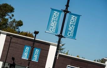 Clacton shopping village