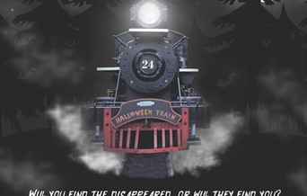 Spooky train ride for adults