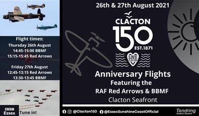 Clacton 150 Anniversary Flights