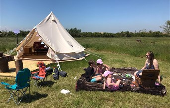 Camping and Glamping at Thamesview Camping the cleanest and  friendliest campsite in Essex 18