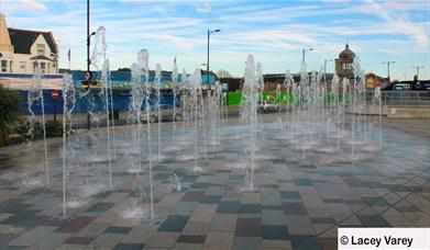 Southend water fountain