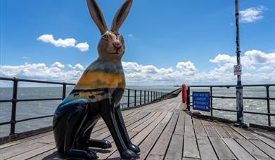 Hares about town