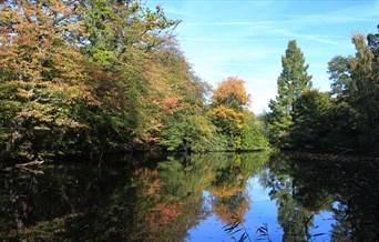 Danbury Park lake