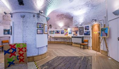 Summer of Art exhibition at Jaywick Martello Tower