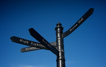 Harwich Sign post