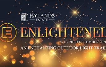 Enlightened outdoor light trail
