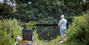 Fishing in the Chelmer and Blackwater Navigation
