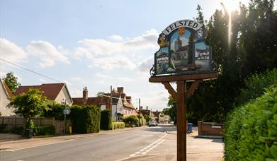 Photo of the village sign