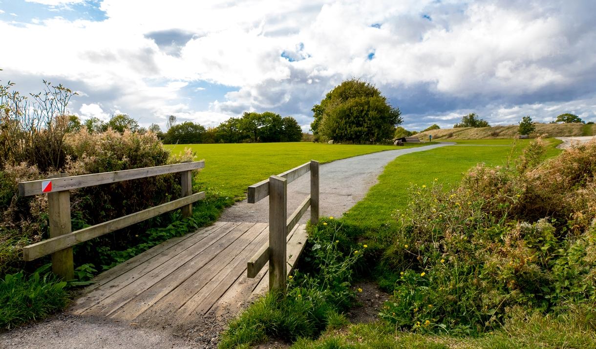 Great Notley bridge path