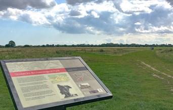 Gosbecks Archaeological Park Interpretation Board