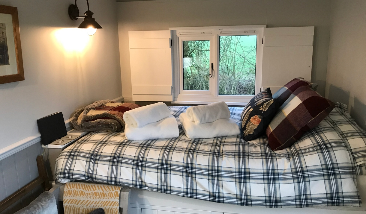 Foster Meadow Glamping interior