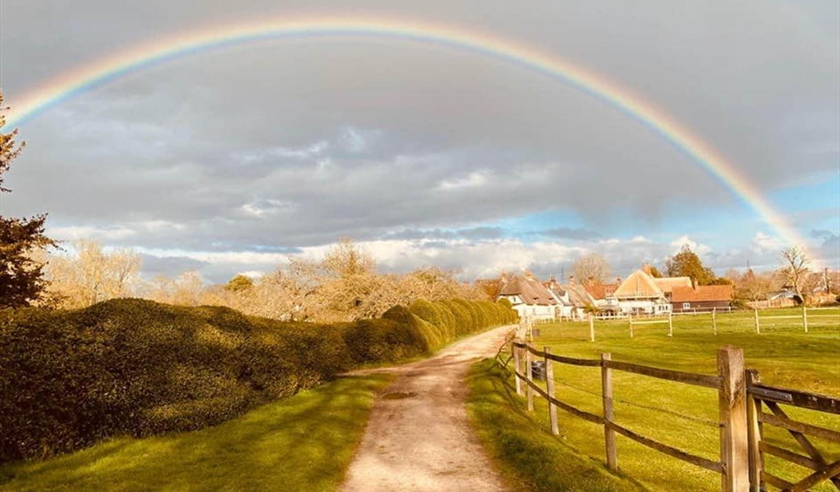 Clavering under a rainbow