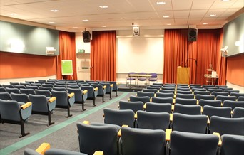 Projection venue at Essex Record Office