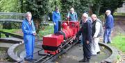 Battle - Museum's largest railway locomotive