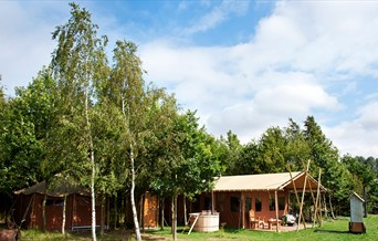 Glamping at Layer Marney Tower