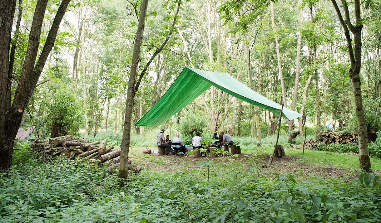 Lee Valley Almost Wild Campsite