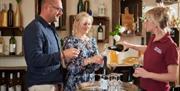 New Hall Vineyards wine tasting