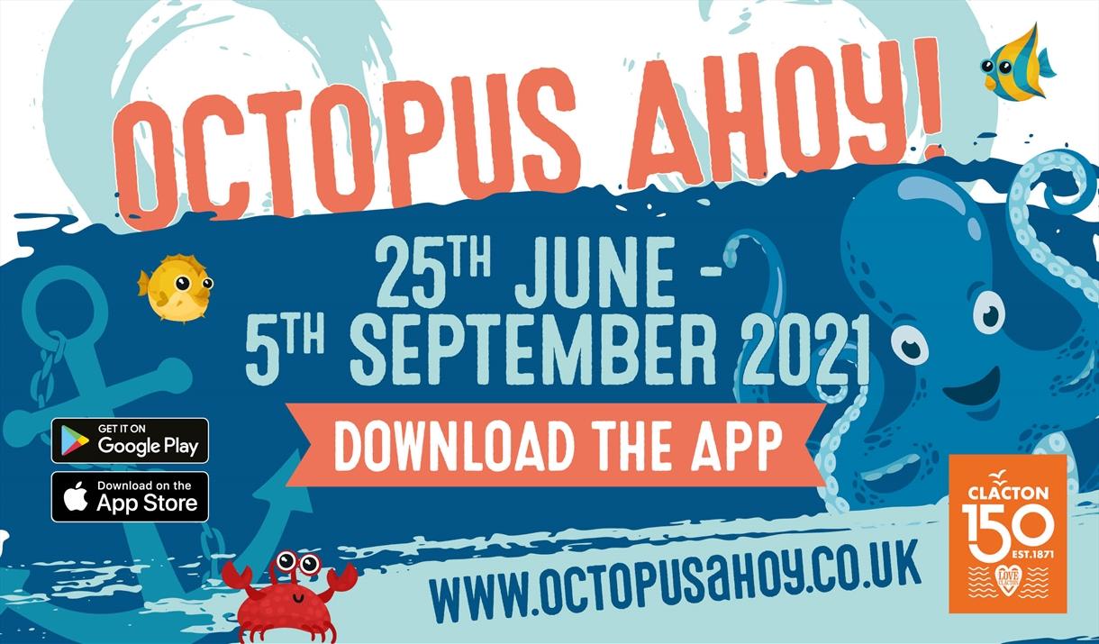 Octopus Ahoy! art sculptures