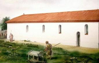 Sketch of Roman Church- Peter Froste