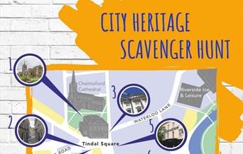 Chelmsford City Heritage Scavenger Blue Plaque Hunt