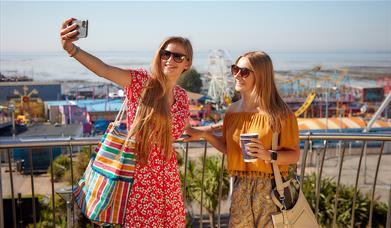 Selfie at Southend-on-Sea