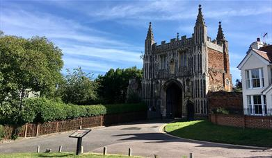 St John's Abbey gatehouse
