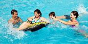 Swimming Pool Fun at Waldegraves Holiday Park, Mersea Island, Essex