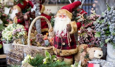 Christmas shopping at RHS Garden Hyde Hall