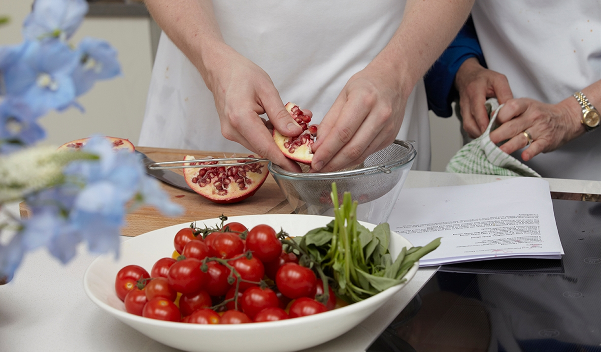 Mistley Kitchen Cookery school