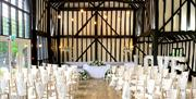 The Rose Barn - Indoor Ceremony